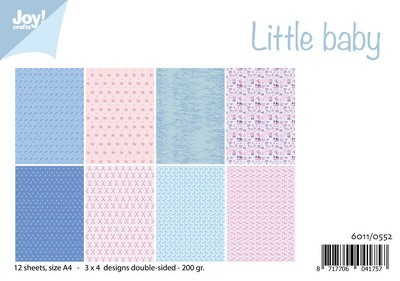 Joy! Crafts - Paperpad Little Baby