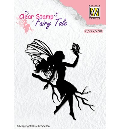 Clearstamp Nellie Snellen - Fairy Tale nr 9