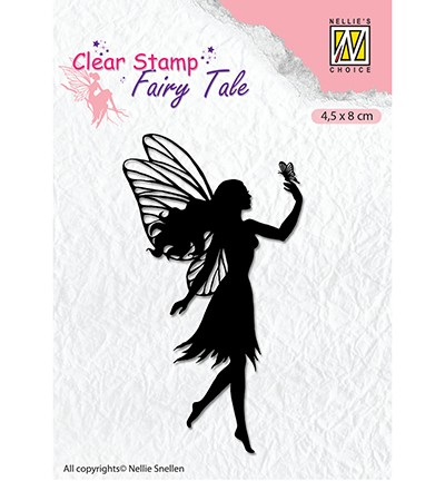 Clearstamp Nellie Snellen - Fairy Tale nr 8