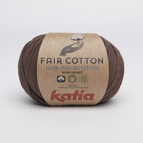 Breiwol Katia - Fair Cotton - Kleur 25