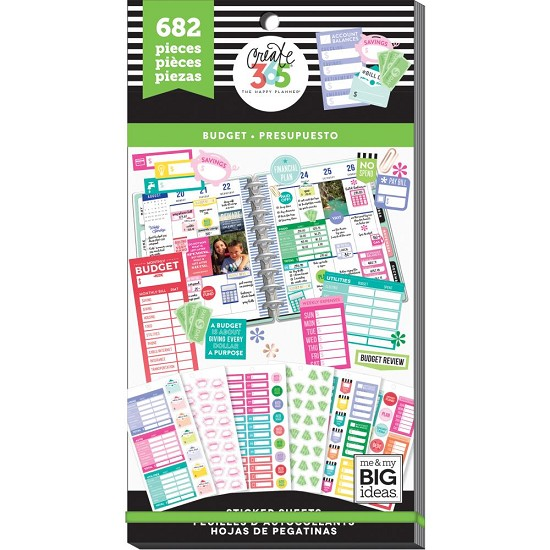 Me & My Big Ideas - Create 365 Happy Planner - Stickers - Budget