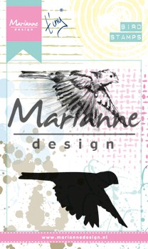 Marianne Design - Cling Stamp Mixed Media - Tiny`s Birds 1