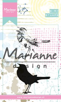 Marianne Design - Cling Stamp Mixed Media - Tiny`s Birds 2