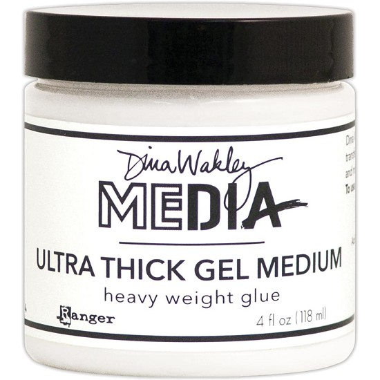 Dina Wakley - Media Ultra Thick Gel Medium - 4oz