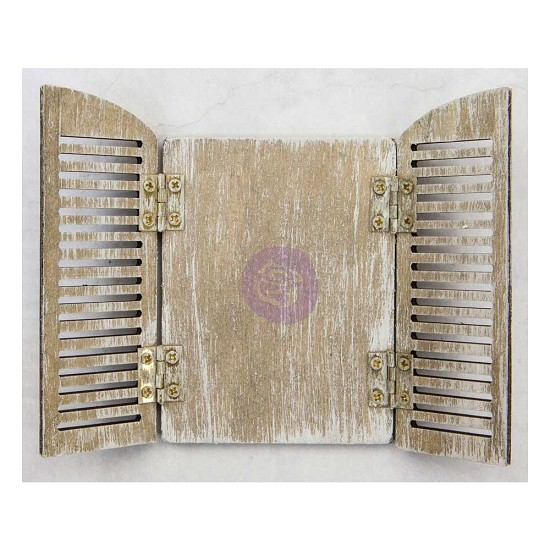 "Prima Marketing - Frank Garcia - Parisian Arch Shutters 3""X4.5"""