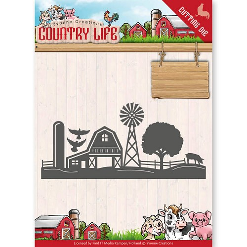 Stansmal - Yvonne Creations - Country Life Farm Border