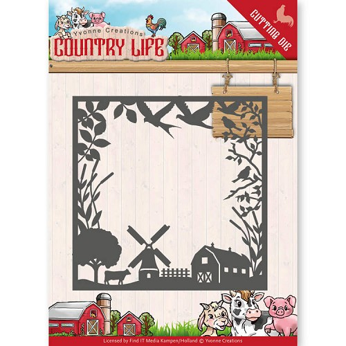 Stansmal - Yvonne Creations - Country Life Country Life Frame