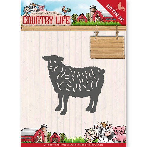 Stansmal - Yvonne Creations - Country Life Sheep