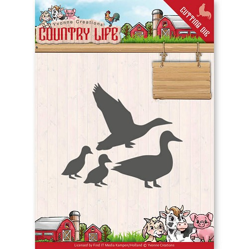 Stansmal - Yvonne Creations - Country Life Ducks