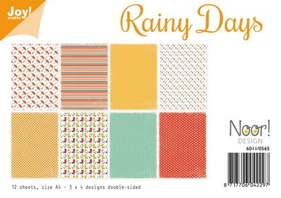 Noor! Design - Paperpad A4 - Rainy Days