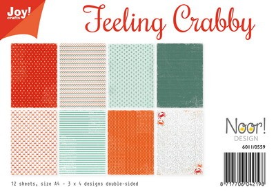 Noor! Design - Paperpad A4 - Feeling Crabby