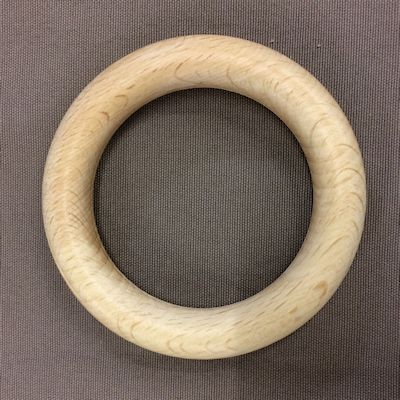 Houten ring - 85 x 12 mm - blank
