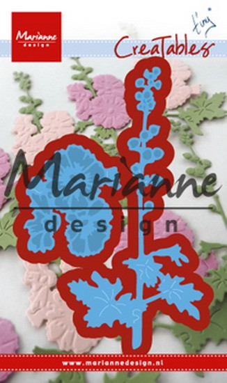 Marianne Design - Creatables - Tiny`s hollyhocks