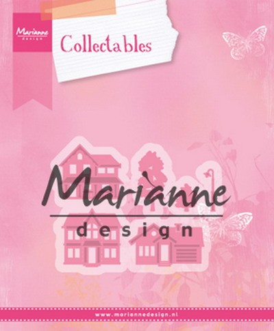 Marianne Design - Collectables - Mini village