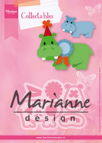 Marianne Design - Collectables - Eline`s Happy Hippo