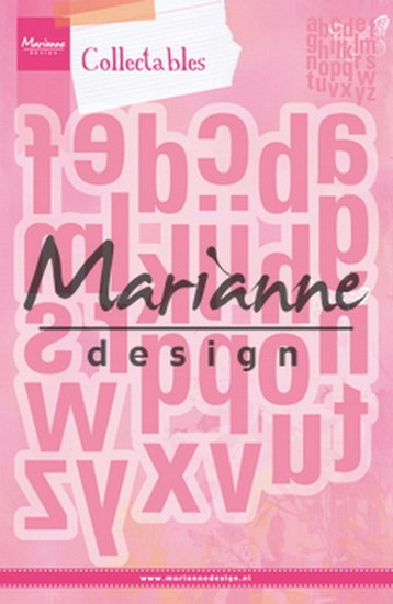 Marianne Design - Collectables - Alfabet XXL