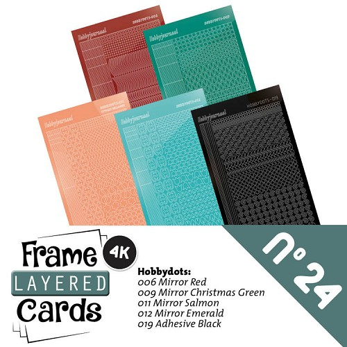 Frame Layered Cards 24 - Stickerset