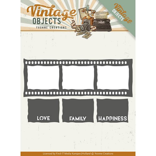 Stansmal - Yvonne Creations - Vintage Objects - Film Strip