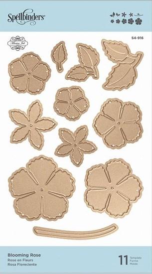 Stansmal Spellbinders - Blooming Rose - S4-916