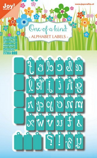 Noor! Design - One of a Kind set - Alfabet labels sierlijk