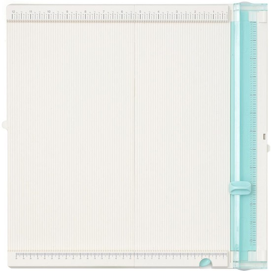 We R Memory Keepers - Trim & Score Board - White / Mint