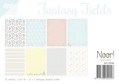 Noor! Design - Paperpad A4 - Fantasie Fields