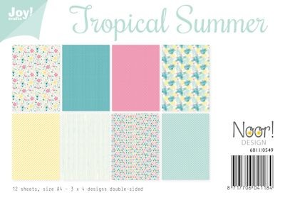 Noor! Design - Paperpad A4 - Tropical Summer