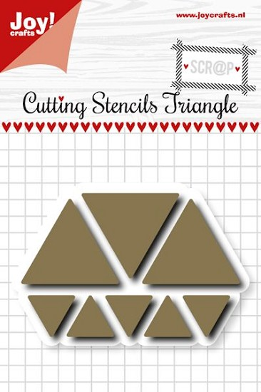 Noor! Design - Scr@p! - Cutting Stencils Triangles