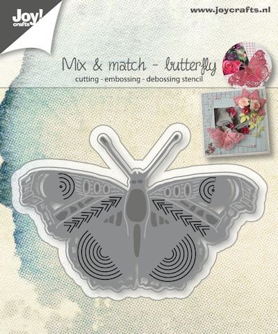 Joy! Crafts - Mix & Match - Vlinders