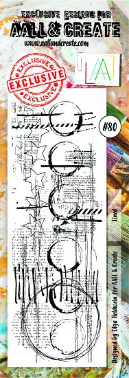 AALL & CREATE - Clearstamp Border - set #80