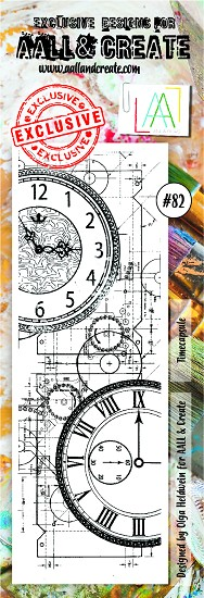 AALL & CREATE - Clearstamp Border - set #82