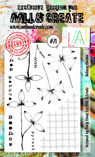 AALL & CREATE - Clearstamp A6 - set #71