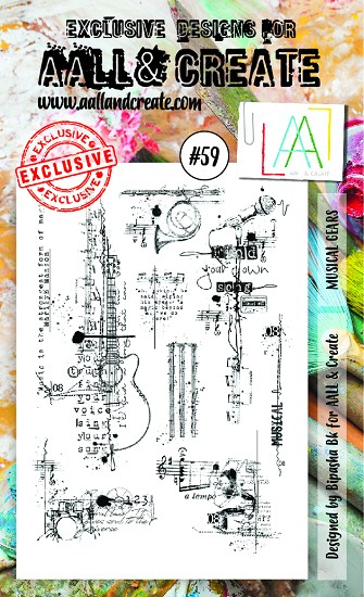 AALL & CREATE - Clearstamp A6 - set #59