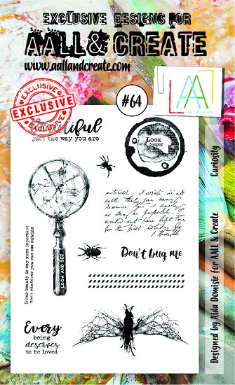 AALL & CREATE - Clearstamp A6 - set #64