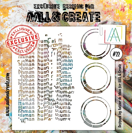 AALL & CREATE - Stencil set #22