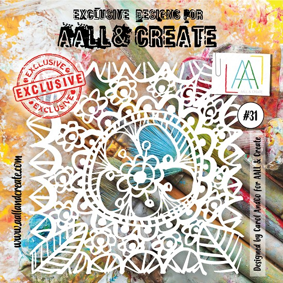 AALL & CREATE - Stencil set #31