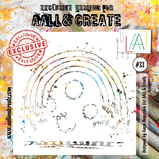 AALL & CREATE - Stencil set #33