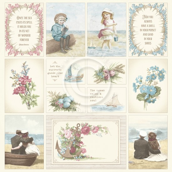 Scrappapier PION Design - Seaside Stories - Images from the Past 1