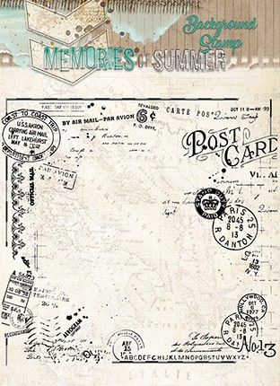 Studio Light - Memories of Summer - Clearstamp - STAMPMS292