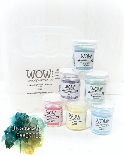 WOW! Embossingpowder - Jenine`s Favourites - Sweet Colors