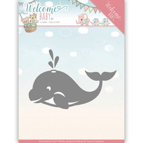 Stansmal Yvonne Creations - Welcome Baby - Little Orca
