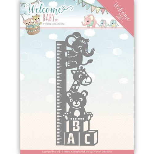 Stansmal Yvonne Creations - Welcome Baby - Growth Chart