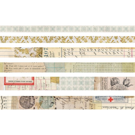 Tim Holtz - Idea-Ology - Design Tape Salvaged