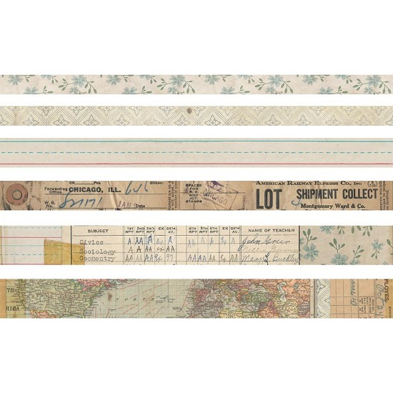 Tim Holtz - Idea-Ology - Design Tape Elementary