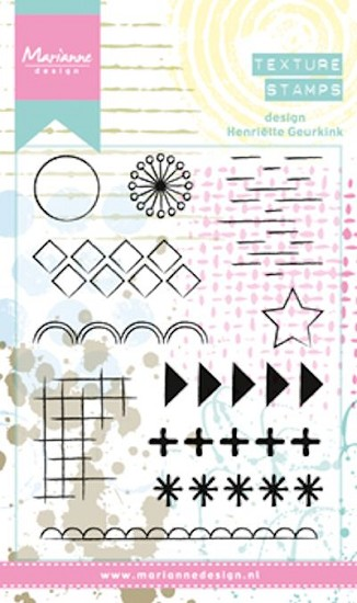 Marianne Design - Mixed Media - Clearstamps Henriette`s Elements