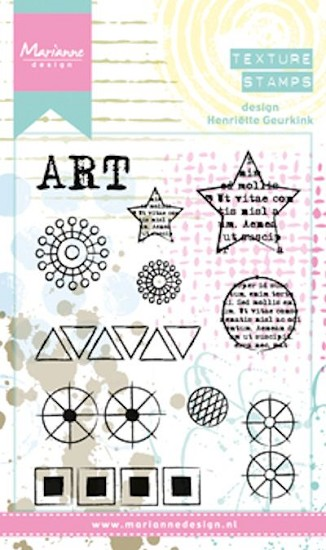 Marianne Design - Mixed Media - Clearstamps Henriette`s Art
