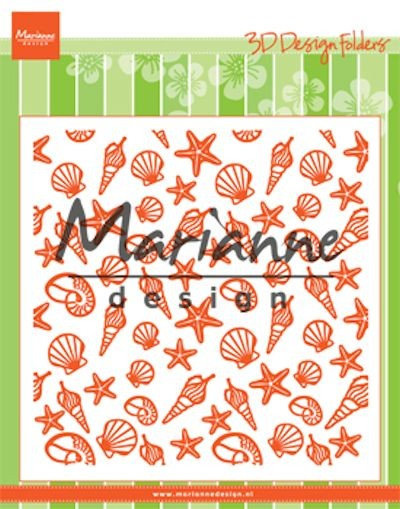 Marianne Design - Design Folder - Seashells