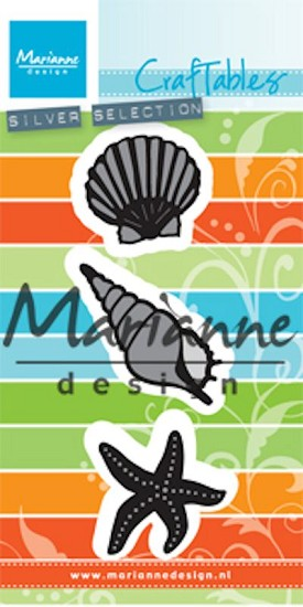 Marianne Design - Craftable - Sea Shells