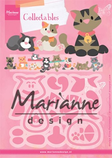 Marianne Design - Collectables - Eline`s Kittens