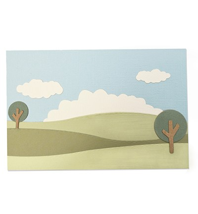 Sizzix - Thinlits Die set - Build a Landscape (9PK)